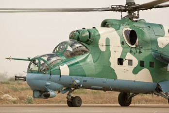 NAF 534 - Nigeria - Air Force Mil Mi-24P
