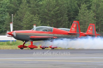 JY-RFA - Royal Jordanian Falcons Extra 300L, LC, LP series