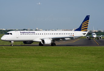 D-AEMC - Augsburg Airways - Lufthansa Regional Embraer ERJ-190 (190-100)