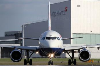 G-EUOD - British Airways Airbus A319