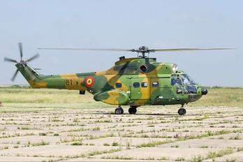 81 - Romania - Air Force IAR Industria Aeronautică Română IAR 330 Puma