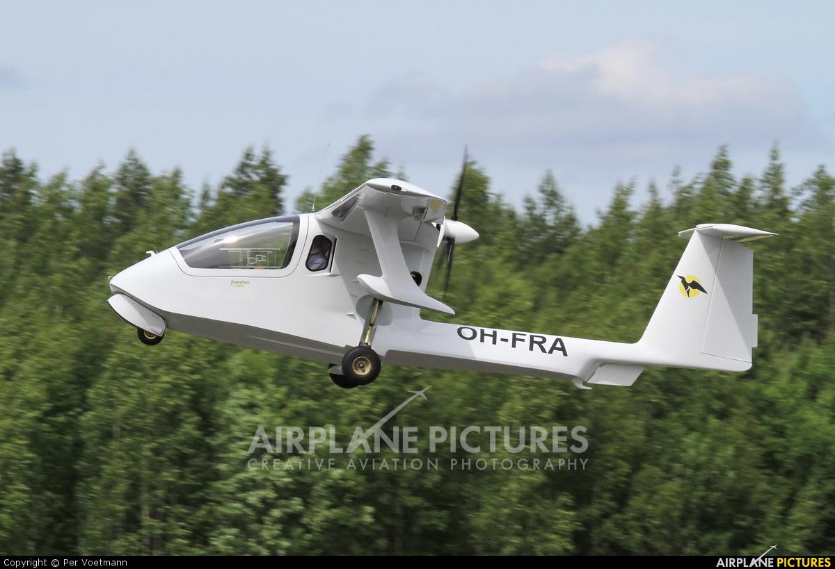 Private OH-FRA aircraft at Lappeenranta