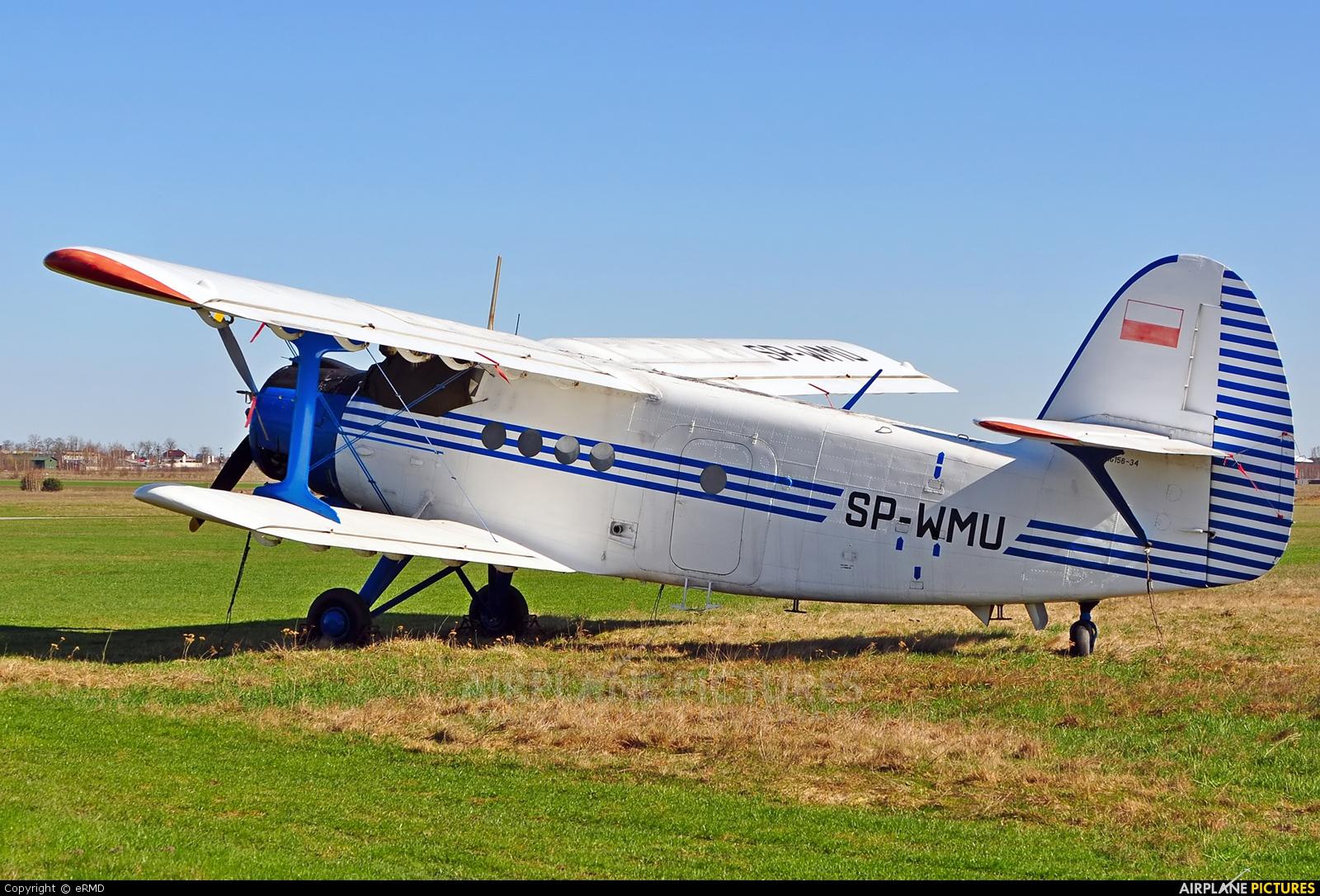 ZUA Mielec SP-WMU aircraft at Radom - Piastów