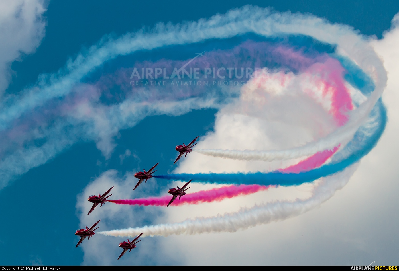"Royal Air Force ""Red Arrows"" XX323 aircraft at Ramenskoye - Zhukovsky"