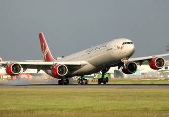 G-VBUG - Virgin Atlantic Airbus A340-600
