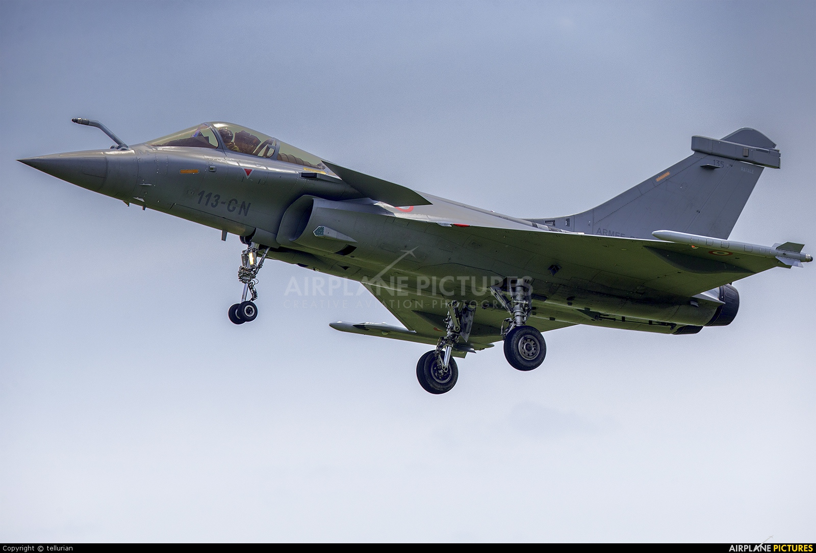 France - Air Force Dassault Rafale C 113-GN