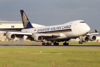 9V-SFM - Singapore Airlines Cargo Boeing 747-400F, ERF