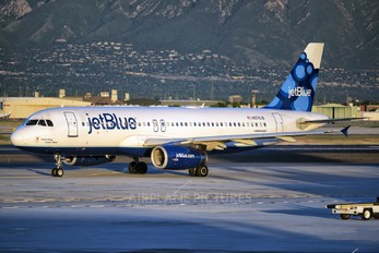 N579JB - JetBlue Airways Airbus A320