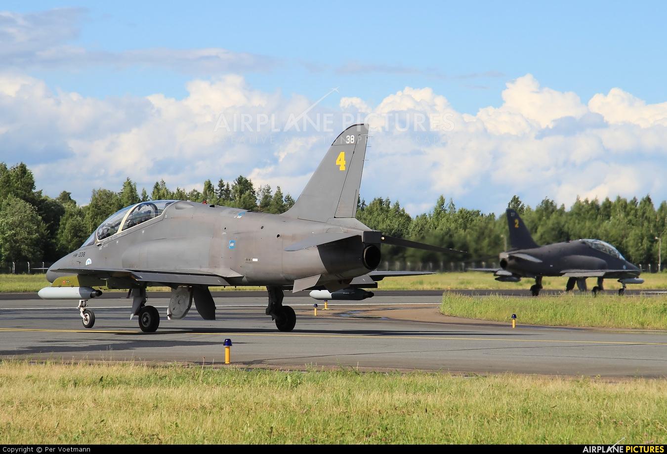 Finland - Air Force: Midnight Hawks HW-338 aircraft at Lappeenranta