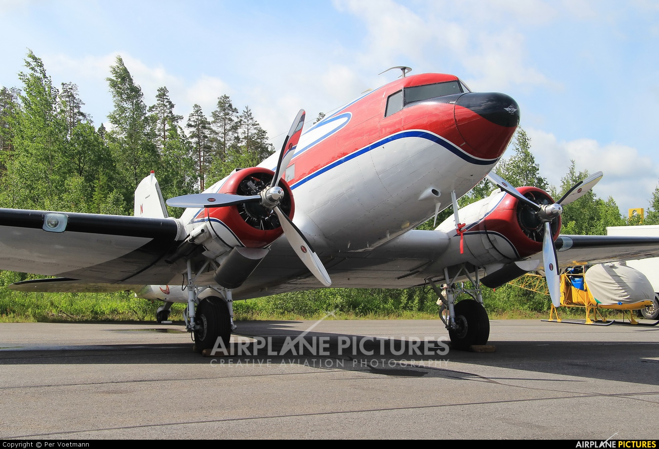 Private RA-2059G aircraft at Lappeenranta