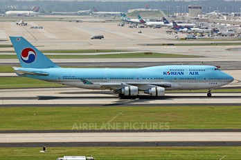 HL7487 - Korean Air Boeing 747-400