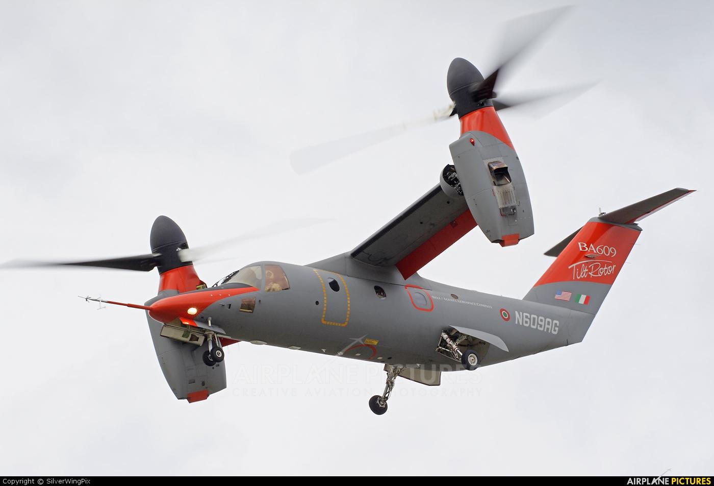 Bell/Agusta Aerospace N609AG aircraft at Farnborough