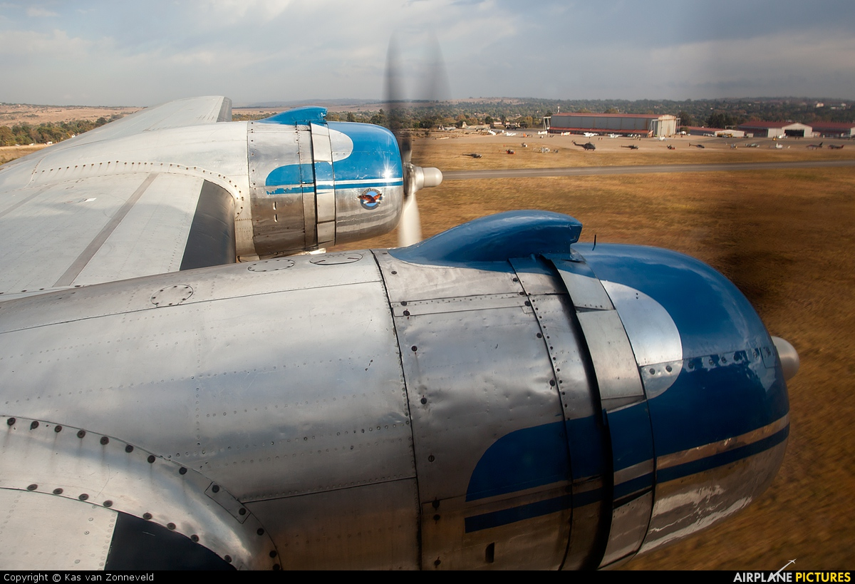 South African Airways Historic Flight ZS-BMH aircraft at Swartkops