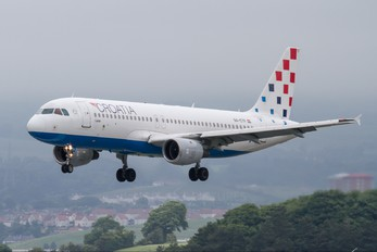 9A-CTF - Croatia Airlines Airbus A320