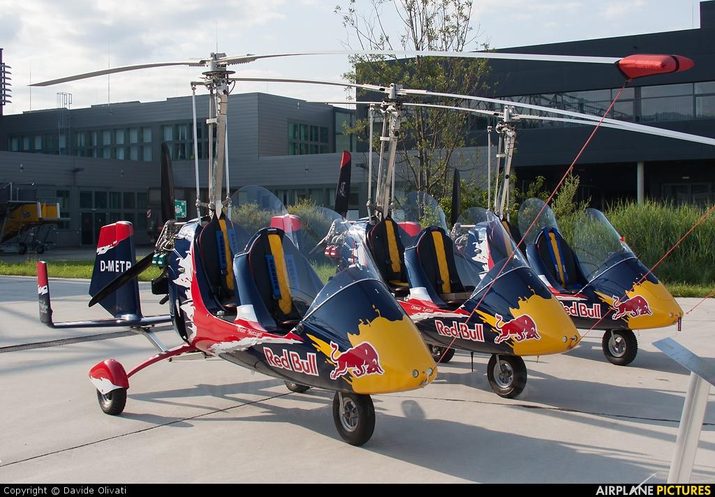 The Flying Bulls D-METP aircraft at Zeltweg