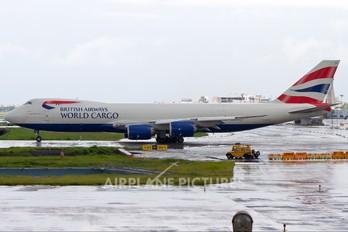 G-GSSF - Global Supply Systems Boeing 747-8F
