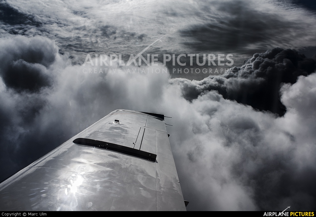 Private - aircraft at In Flight - France