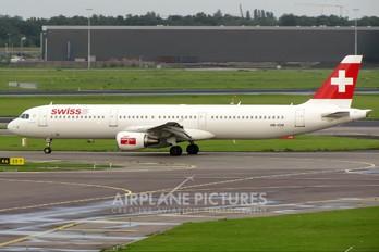 HB-IOM - Swiss Airbus A321