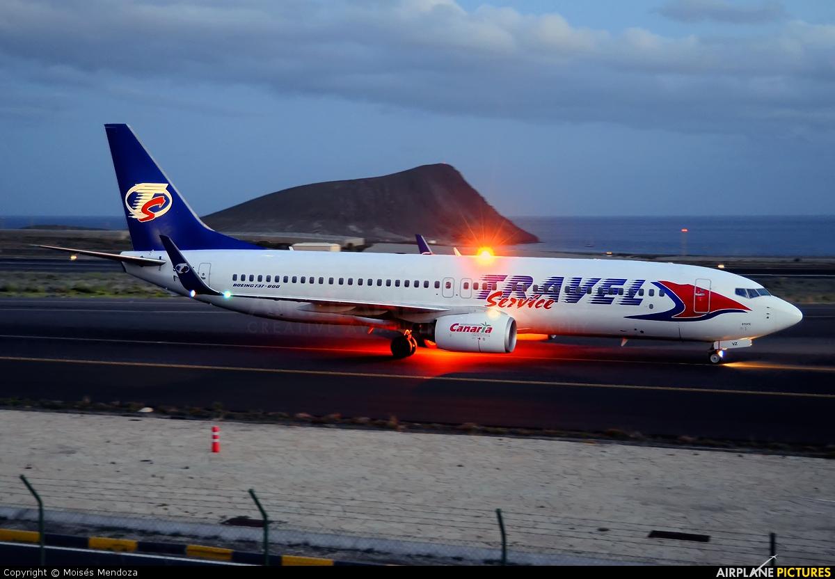 Travel Service SP-TVZ aircraft at Tenerife Sur - Reina Sofia