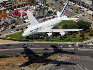 F-HPJE - Air France Airbus A380