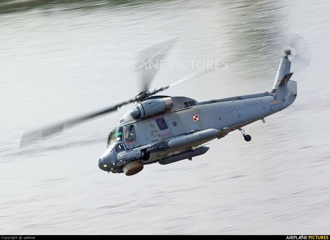 Poland - Navy 3543 aircraft at Płock