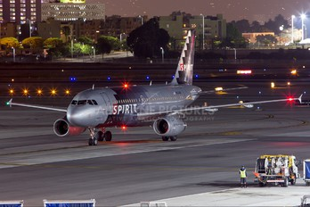 N524NK - Spirit Airlines Airbus A319
