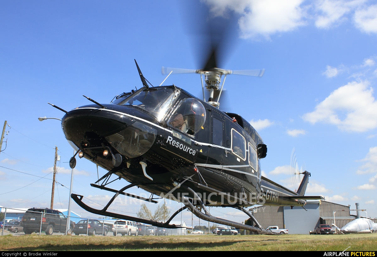Resource Helicopters C-GTRH aircraft at Langley Regional, BC