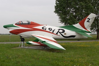 MM6413 - Italy - Air Force Fiat G91