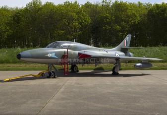 XL565 - Royal Air Force Hawker Hunter T.7