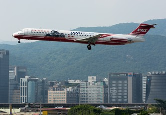 B-28021 - Far Eastern Air Transport McDonnell Douglas MD-82