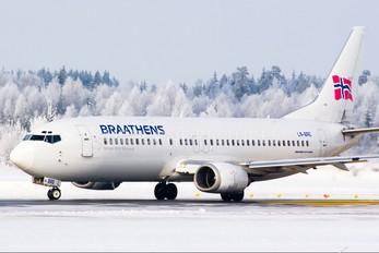LN-BRE - Braathens Boeing 737-400