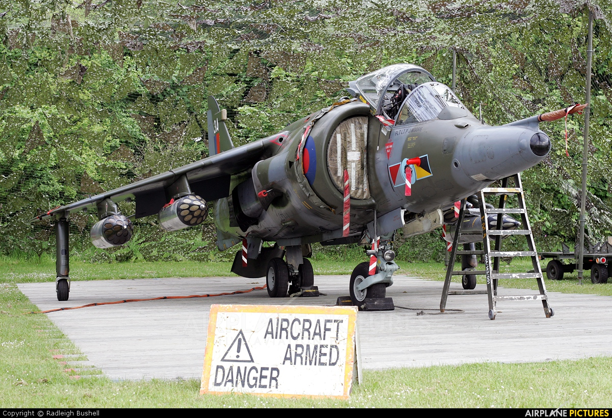 Royal Air Force XZ991 aircraft at Cosford