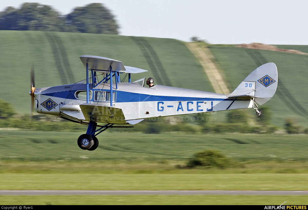 Private G-ACEJ aircraft at Duxford