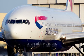 G-VIIS - British Airways Boeing 777-200