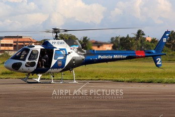 PP-EMH - Brazil - Military Police Eurocopter AS350 Ecureuil / Squirrel