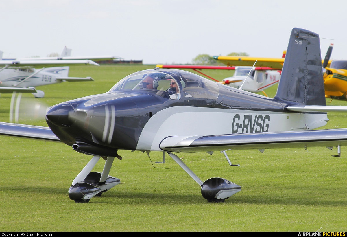 Private G-RVSG aircraft at Northampton / Sywell