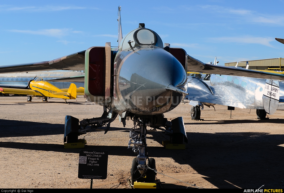 Russia - Air Force 35 aircraft at Tucson - Pima Air & Space Museum