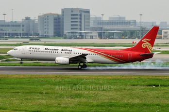 B-5102 - Shenzhen Airlines Boeing 737-900