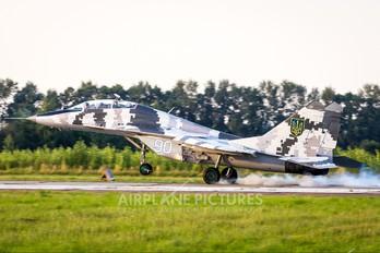 90 - Ukraine - Air Force Mikoyan-Gurevich MiG-29UB