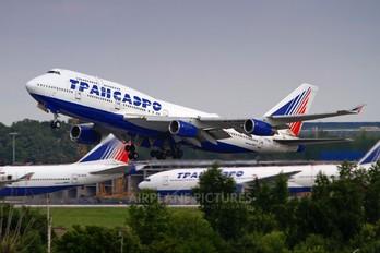 VP-BKJ - Transaero Airlines Boeing 747-400