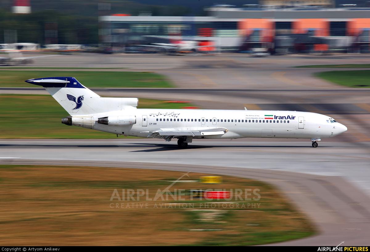 Iran Air EP-IRR aircraft at Moscow - Sheremetyevo
