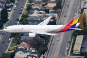 HL7742 - Asiana Airlines Boeing 777-200ER aircraft