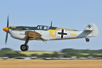 G-BWUE - Historic Flying Hispano Aviación HA-1112 Buchon