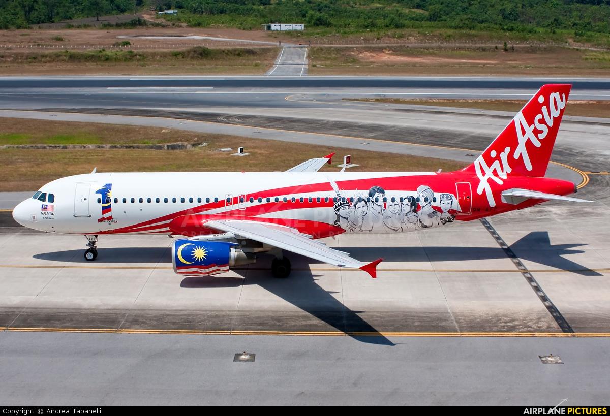 AirAsia (Thailand) 9M-AFP aircraft at Phuket