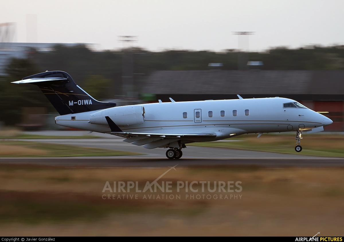 Dalia Air M-OIWA aircraft at Frankfurt