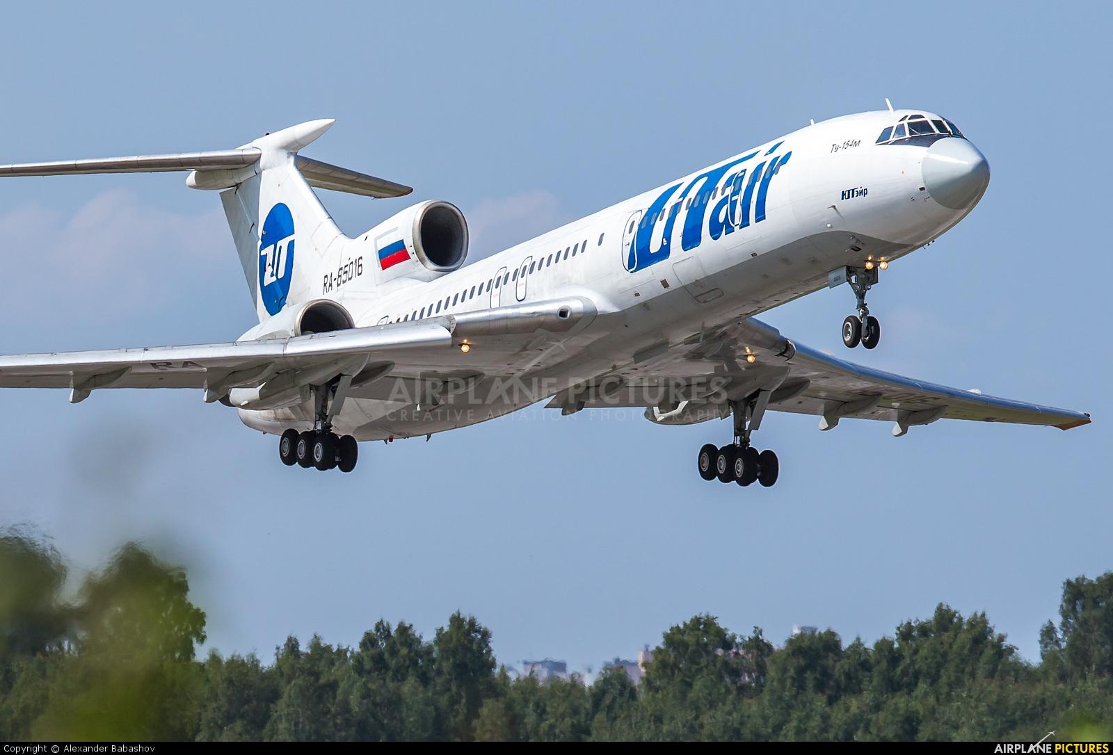 UTair Tupolev Tu-154M RA-85016