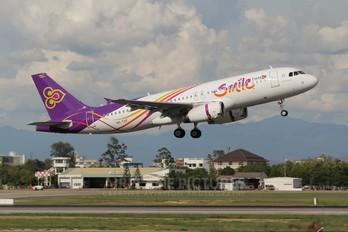 HS-TXF - Thai Smile Airbus A320