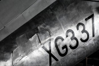 XG337 - Royal Air Force English Electric Lightning F.1