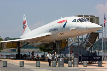 G-BOAD - British Airways Aerospatiale-BAC Concorde
