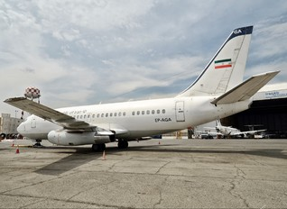 EP-AGA - Iran - Government Boeing 737-200